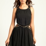 Little Mistress Black Chiffon Prom Dress , 10 Little Black Homecoming Dresses In Fashion Category