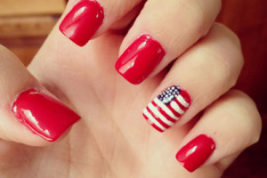 Nail , 6 Fourth Of July Nail Designs : 4th Of July Nail Art Designs Ideas