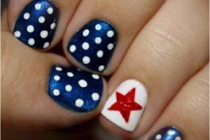 Nail , 6 Fourth Of July Nail Designs : 4th of July nail designs