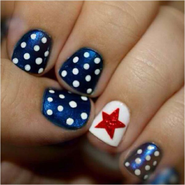 4th Of July Nail Designs : 6 Fourth Of July Nail Designs | Woman ...