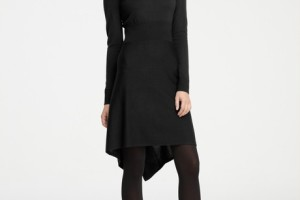460x566px 10 Long Sleeve Black Sweater Dress Picture in Fashion