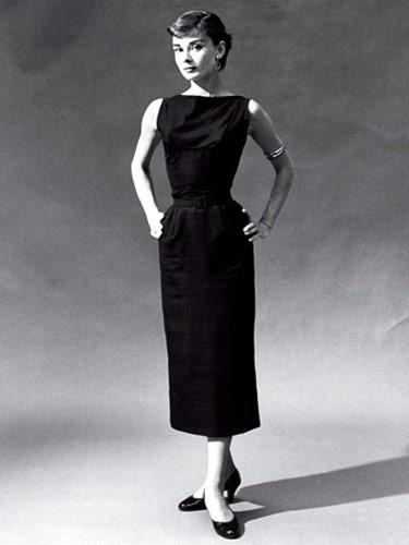 5 Audrey Hepburn Little Black Dress in Fashion