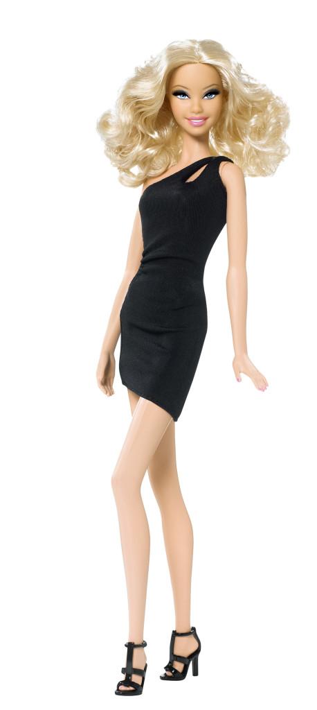 6 Little Black Dress Barbie in Fashion