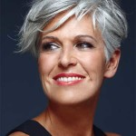 Best Short Haircuts for gray hair , 6 Short Hairstyles For Gray Haired Women In Hair Style Category
