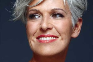 450x563px 6 Short Hairstyles For Gray Haired Women Picture in Hair Style