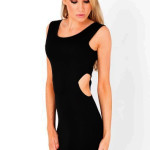 Black Cut out Backless Feature , 6 Little Black Dress Backless Style In Fashion Category