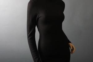 1000x1000px 7 Long Black Turtleneck Dress Picture in Fashion