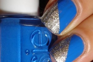 Nail , 6 Blue Prom Nail Designs : Blue Nail Designs For Prom