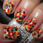 Bright polka dot nails designs , 8 Polka Dot Nail Designs In Nail Category