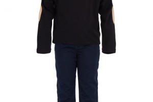 Fashion , 5 Boys Long Sleeve Black Dress Shirt : Burberry Boys Black Long Sleeve T Shirt