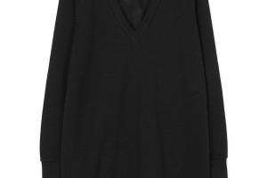 Fashion , 9 Casual Long Black Dress : Casual Sexy neck long black dress