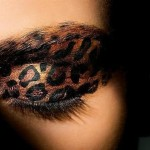 Cheetah Print Eye Makeup , 7 Cheetah Inspired Eye Makeup In Make Up Category