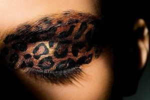 Make Up , 7 Cheetah Inspired Eye Makeup : Cheetah Print Eye Makeup