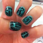 Crackle Nail Art Trend , 6 Crackle Nail Designs In Nail Category