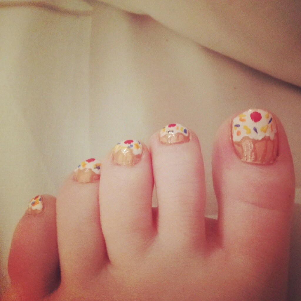 4 Toe Nail Designs Tumblr in Nail