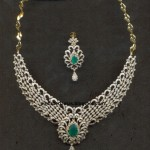 Diamond Necklace designs 1 , 7 Diamond Necklace Designs In Jewelry Category