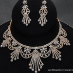 Diamond Necklace designs 5 , 7 Diamond Necklace Designs In Jewelry Category