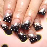 Easter Fashion Polka Dots Nails Designing , 8 Polka Dot Nail Designs In Nail Category