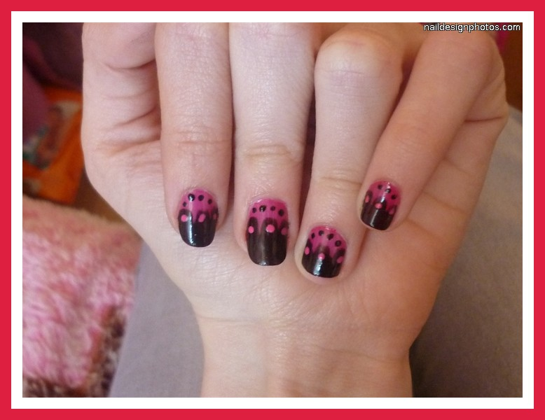 easy nail art for short nails 3 simple nail art designs for short nails woman fashion. Black Bedroom Furniture Sets. Home Design Ideas