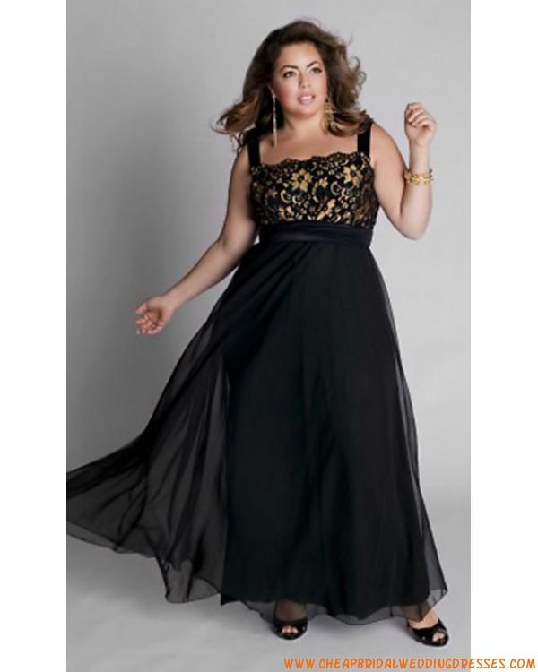 Elegant Black and Gold Plus Size Dress : Woman Fashion ...