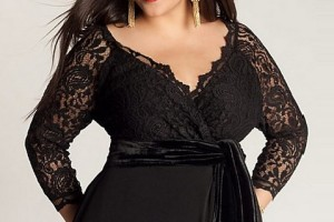 Fashion , 3 Elegant Long Black Dress Plus Size : Elegant Long Black Dresses Plus Size