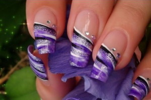 600x352px 7 New Years Eve Nail Designs Picture in Nail