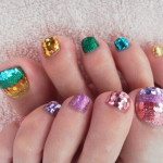 Elegant Toe Nail Art Designs , 6 Nail Art Designs For Toes In Nail Category