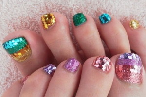 Nail , 6 Nail Art Designs For Toes : Elegant Toe Nail Art Designs