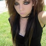 Incredible 6 Emo Hairstyles For Girls With Brown Hair Woman Fashion Hairstyle Inspiration Daily Dogsangcom