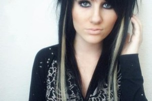 444x624px 7 Emo Hairstyles For Girls With Long Hair Picture in Hair Style