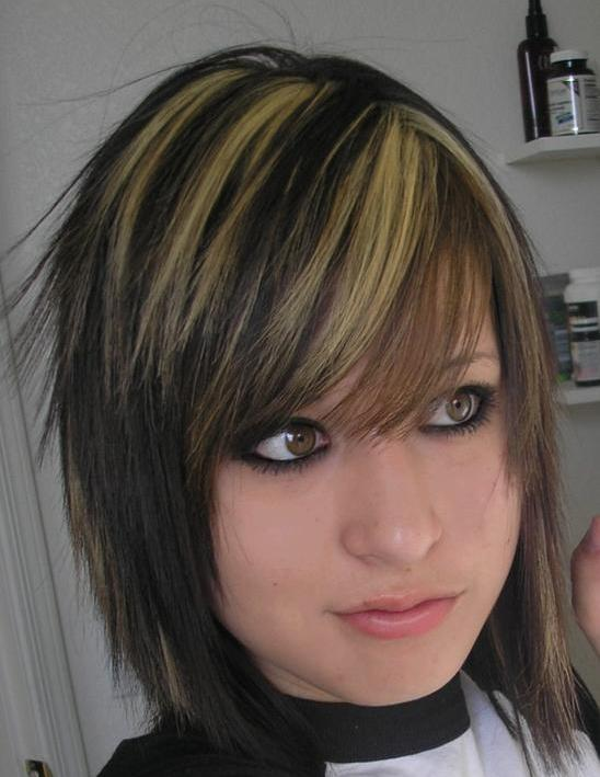 5 Emo Hairstyles For Girls With Short Hair in Hair Style