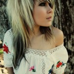 Emo Hairstyles Her Emo hairstyle starts , 6 Emo Hairstyles For Girls With Brown Hair In Hair Style Category