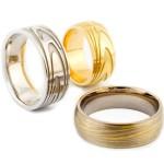 Fingerprint-Wedding-Ring-Ideas , Wedding Ring Idea For Women In Wedding Category