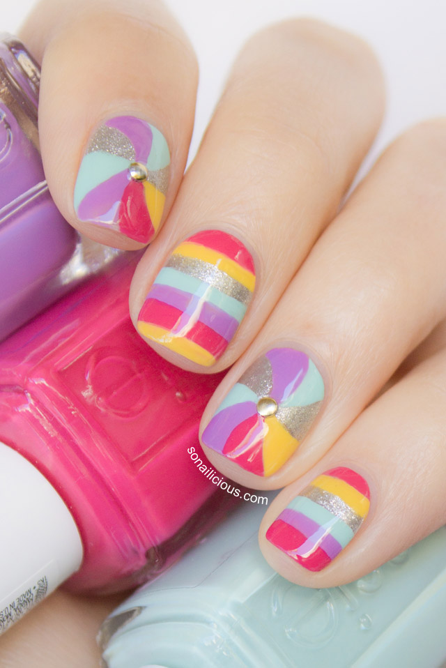6 Swirl Nail Designs in Nail