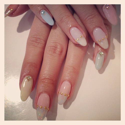 4 Gel Nail Designs Tumblr in Nail