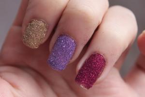 Nail , 6 Sparkly Nail Designs : Glitter Nail Polish Ideas