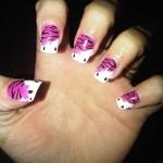 Hello Kitty Nails , 6 Hello Kitty Nail Designs In Nail Category
