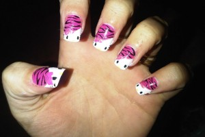 Nail , 6 Hello Kitty Nail Designs : Hello Kitty Nails