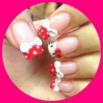 Hello Kitty Inspired Nails , 6 Hello Kitty Nail Designs In Nail Category