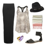 How to Wear a Black Maxi Skirt , 6 Trick How To Wear A Long Black Maxi Dress In Fashion Category