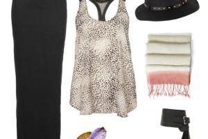Fashion , 6 Trick How To Wear A Long Black Maxi Dress : How to Wear a Black Maxi Skirt