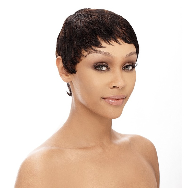 4 Short Hairstyle Wigs For Black Women in Hair Style