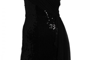 Fashion , 7 Little Black Sequin Dress : Little Mistress Black Sequin Dress