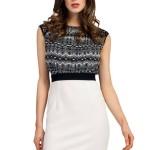 Little Mistress black and white dress , 10 Little Black And White Dress In Fashion Category