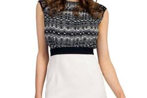 Fashion , 10 Little Black And White Dress : Little Mistress black and white dress