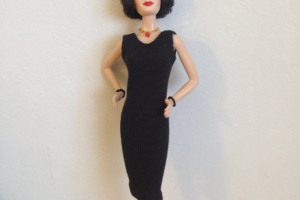 Fashion , 6 Little Black Dress Barbie : Little black dress for Barbie handmade