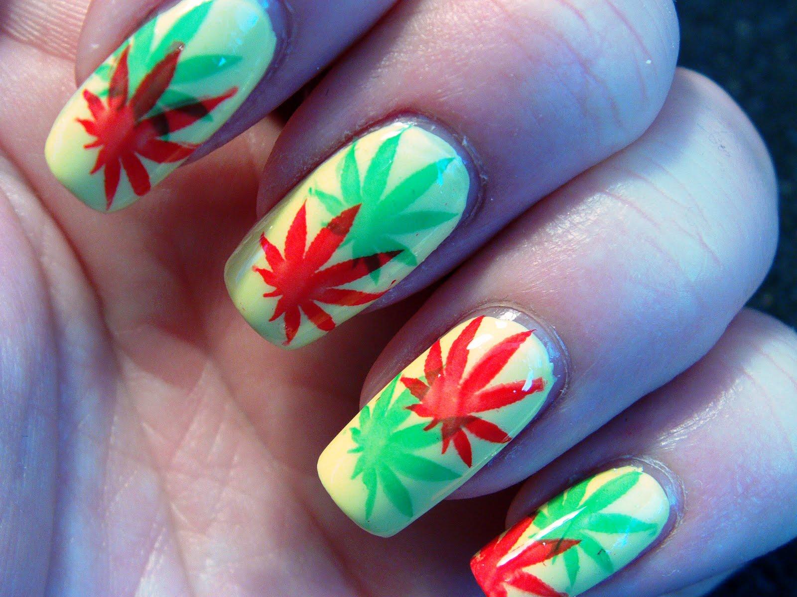 Marihuana in rasta colors 6 rasta nail designs woman fashion max size 1600 x 1200 prinsesfo Choice Image