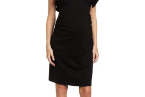 Fashion , 10 Maternity Little Black Dress : Maternity Evening Dresses