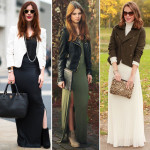 Maxi Dresses Layered with jackets , 6 Trick How To Wear A Long Black Maxi Dress In Fashion Category