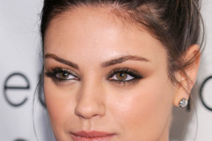 Make Up , 5 Mila Kunis Eye Makeup : Mila Kunis eyes smolder